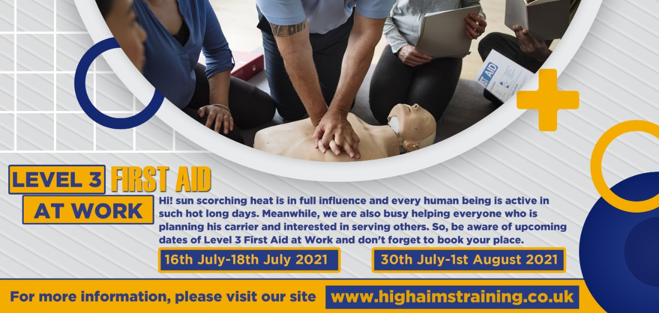 level 3 first aid at work